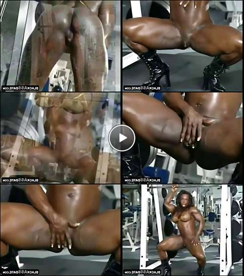 sexy black female porn video